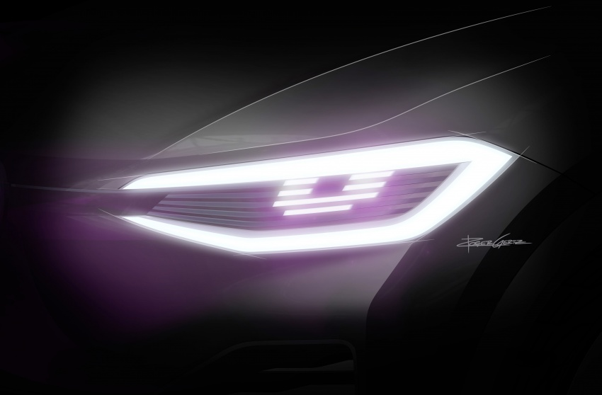Volkswagen I.D. Crozz – coupe/SUV crossover EV debuts with 306 PS, all-wheel drive, 500 km range Image #647172