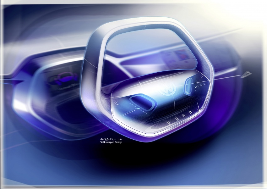 Volkswagen I.D. Crozz – coupe/SUV crossover EV debuts with 306 PS, all-wheel drive, 500 km range Image #647174