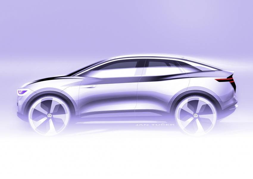Volkswagen I.D. Crozz – coupe/SUV crossover EV debuts with 306 PS, all-wheel drive, 500 km range Image #647181