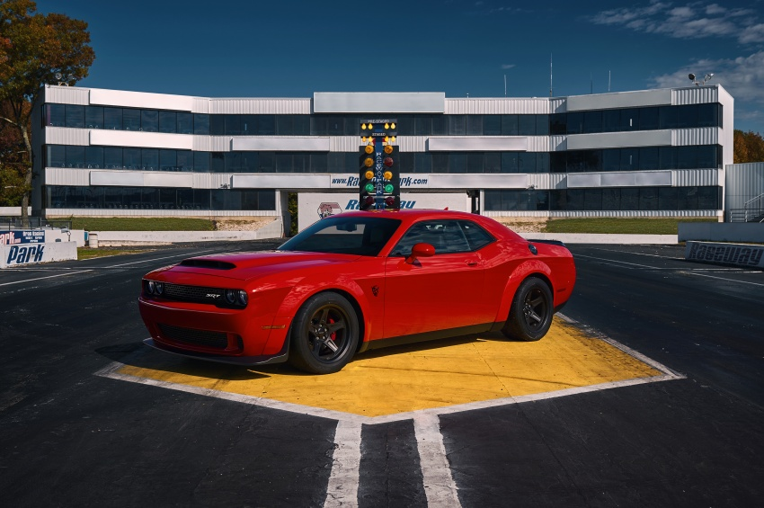 Dodge Challenger SRT Demon – world's quickest production car with 840 hp, 0-100 km/h in 2.3 secs Image #643881