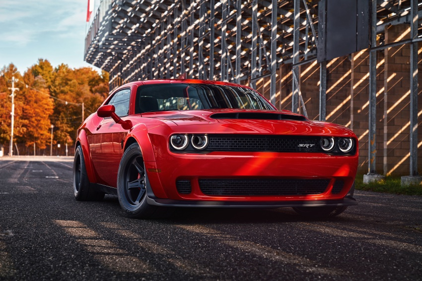 Dodge Challenger SRT Demon – world's quickest production car with 840 hp, 0-100 km/h in 2.3 secs Image #643883