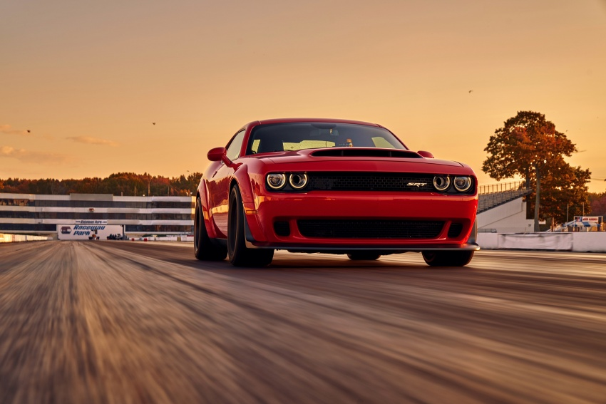 Dodge Challenger SRT Demon – world's quickest production car with 840 hp, 0-100 km/h in 2.3 secs Image #643888
