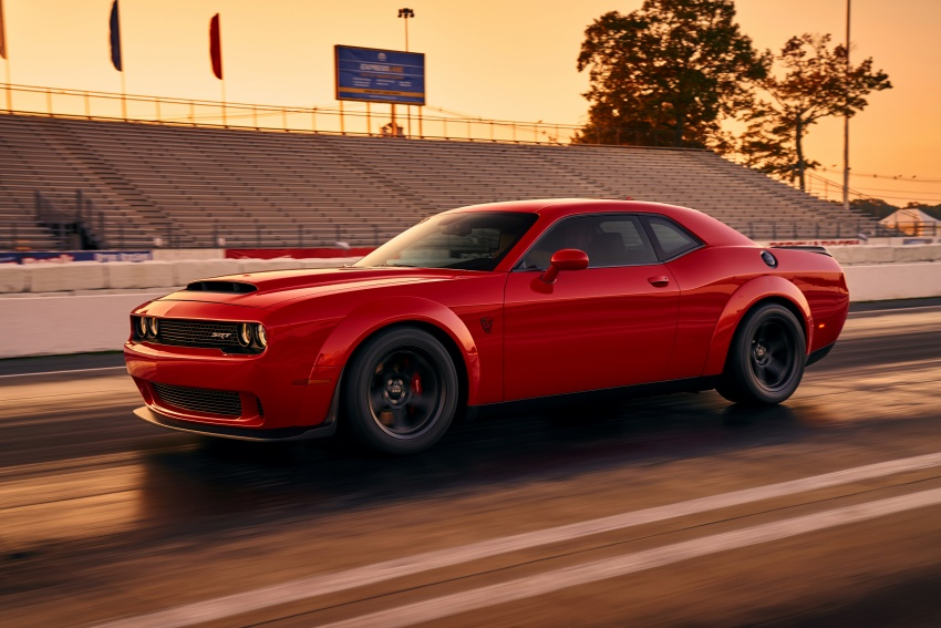Dodge Challenger SRT Demon – world's quickest production car with 840 hp, 0-100 km/h in 2.3 secs Image #643892