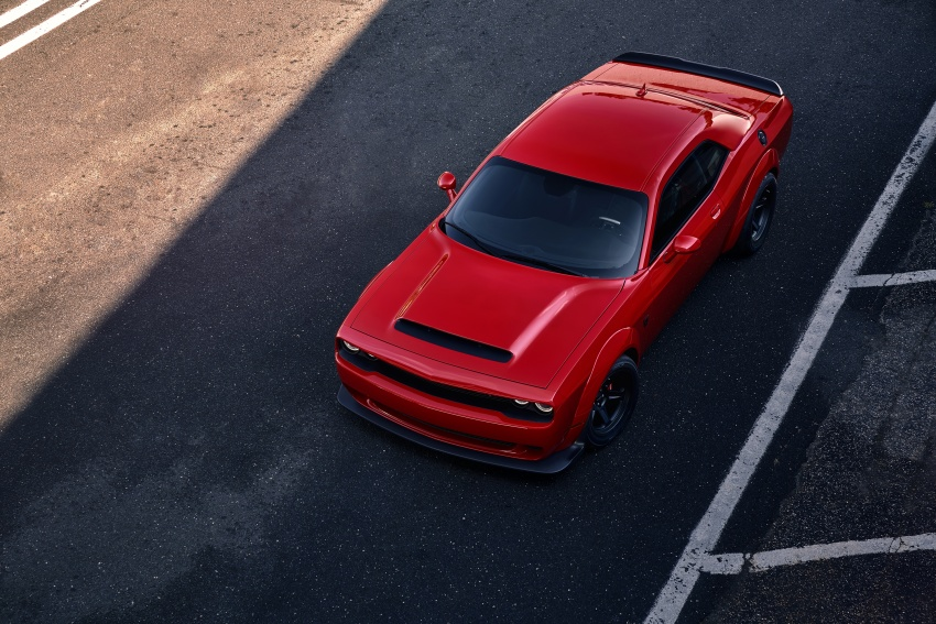 Dodge Challenger SRT Demon – world's quickest production car with 840 hp, 0-100 km/h in 2.3 secs Image #643897
