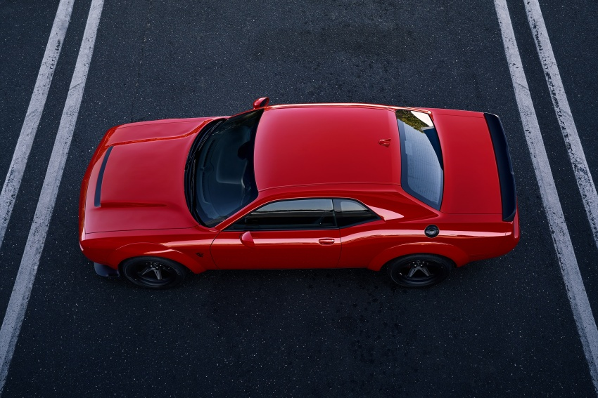 Dodge Challenger SRT Demon – world's quickest production car with 840 hp, 0-100 km/h in 2.3 secs Image #643898