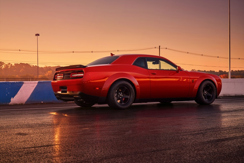Dodge Challenger SRT Demon – world's quickest production car with 840 hp, 0-100 km/h in 2.3 secs Image #643899