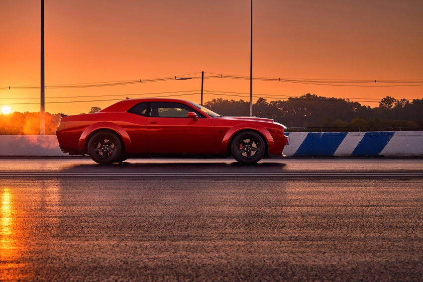 Dodge Challenger SRT Demon – world's quickest production car with 840 hp, 0-100 km/h in 2.3 secs Image #643902