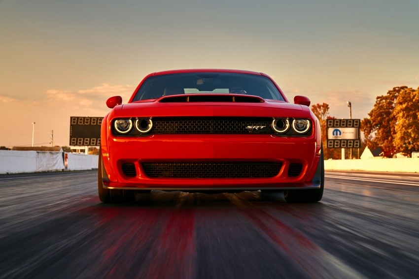 Dodge Challenger SRT Demon – world's quickest production car with 840 hp, 0-100 km/h in 2.3 secs Image #643904