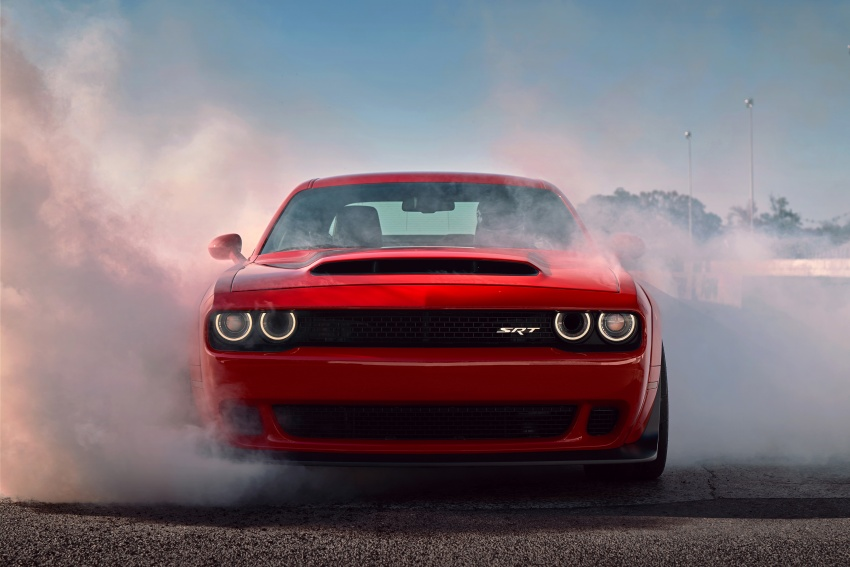 Dodge Challenger SRT Demon – world's quickest production car with 840 hp, 0-100 km/h in 2.3 secs Image #643920