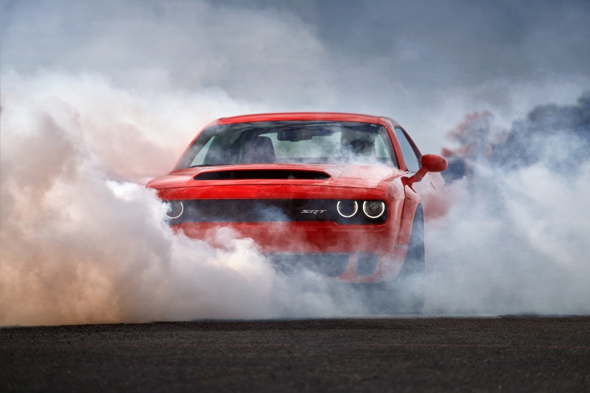 Dodge Challenger SRT Demon – world's quickest production car with 840 hp, 0-100 km/h in 2.3 secs Image #643922