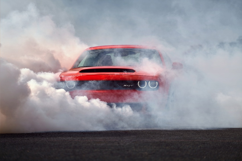 Dodge Challenger SRT Demon – world's quickest production car with 840 hp, 0-100 km/h in 2.3 secs Image #643923