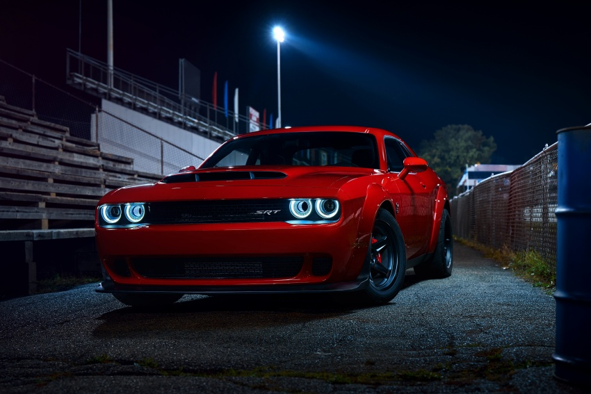 Dodge Challenger SRT Demon – world's quickest production car with 840 hp, 0-100 km/h in 2.3 secs Image #643924