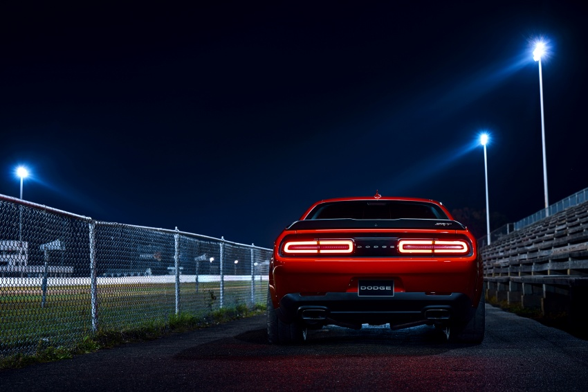 Dodge Challenger SRT Demon – world's quickest production car with 840 hp, 0-100 km/h in 2.3 secs Image #643926