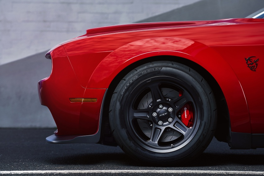 Dodge Challenger SRT Demon – world's quickest production car with 840 hp, 0-100 km/h in 2.3 secs Image #643931
