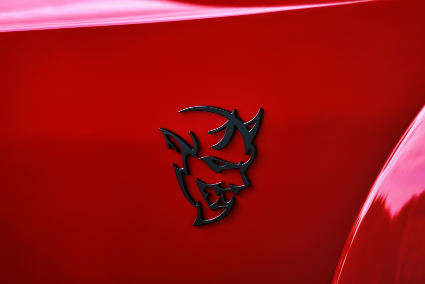 Dodge Challenger SRT Demon – world's quickest production car with 840 hp, 0-100 km/h in 2.3 secs Image #643934