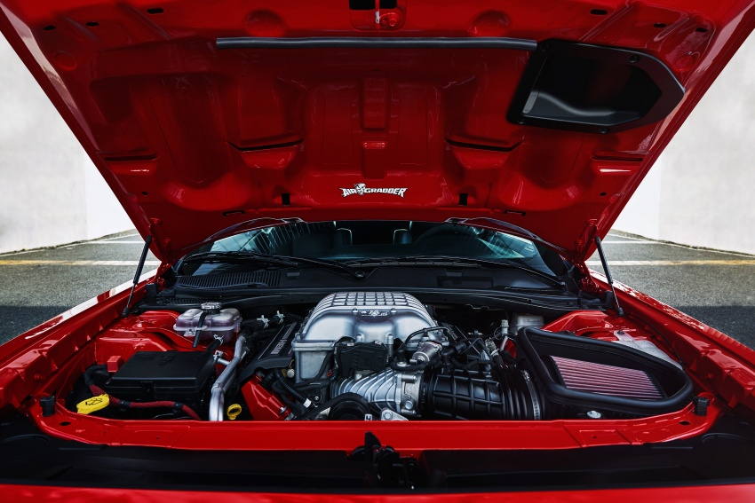 Dodge Challenger SRT Demon – world's quickest production car with 840 hp, 0-100 km/h in 2.3 secs Image #643937