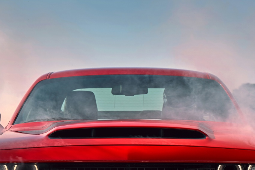 Dodge Challenger SRT Demon – world's quickest production car with 840 hp, 0-100 km/h in 2.3 secs Image #643950