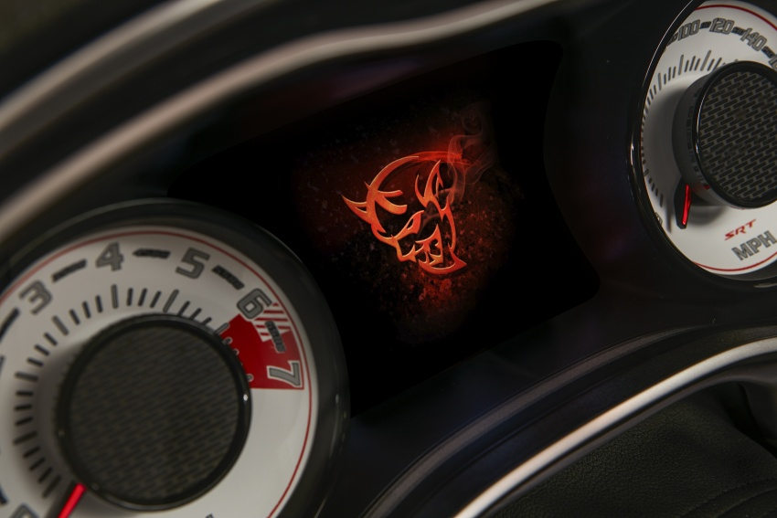 Dodge Challenger SRT Demon – world's quickest production car with 840 hp, 0-100 km/h in 2.3 secs Image #643984