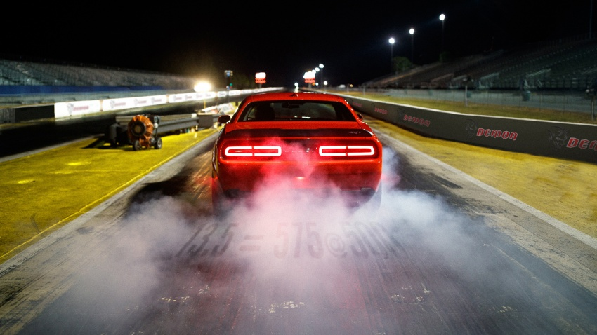 Dodge Challenger SRT Demon – world's quickest production car with 840 hp, 0-100 km/h in 2.3 secs Image #644015