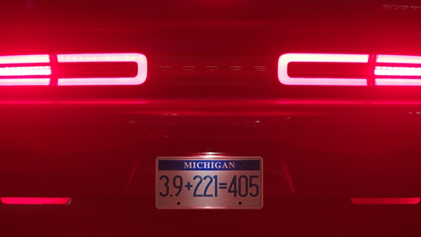Dodge Challenger SRT Demon – world's quickest production car with 840 hp, 0-100 km/h in 2.3 secs Image #644017
