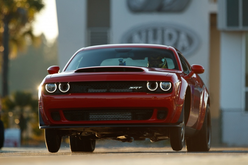 Dodge Challenger SRT Demon – world's quickest production car with 840 hp, 0-100 km/h in 2.3 secs Image #644024