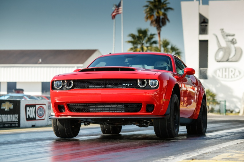 Dodge Challenger SRT Demon – world's quickest production car with 840 hp, 0-100 km/h in 2.3 secs Image #644025