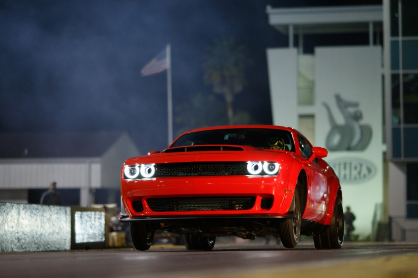 Dodge Challenger SRT Demon – world's quickest production car with 840 hp, 0-100 km/h in 2.3 secs Image #644026