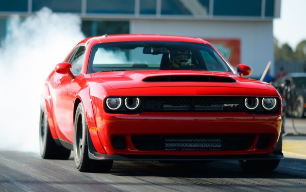 Dodge Challenger SRT Demon – world s quickest production car with