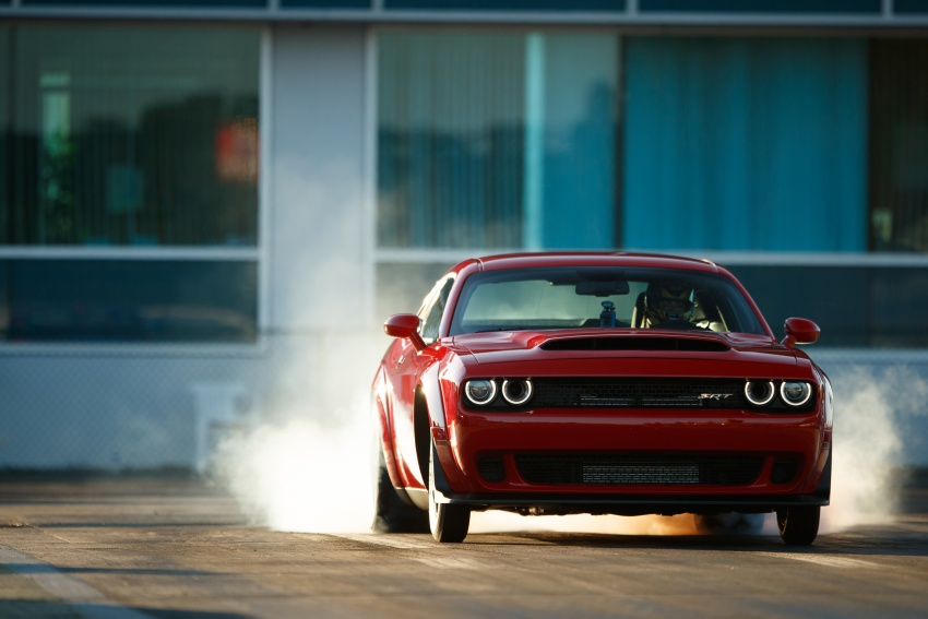 Dodge Challenger SRT Demon – world's quickest production car with 840 hp, 0-100 km/h in 2.3 secs Image #644028