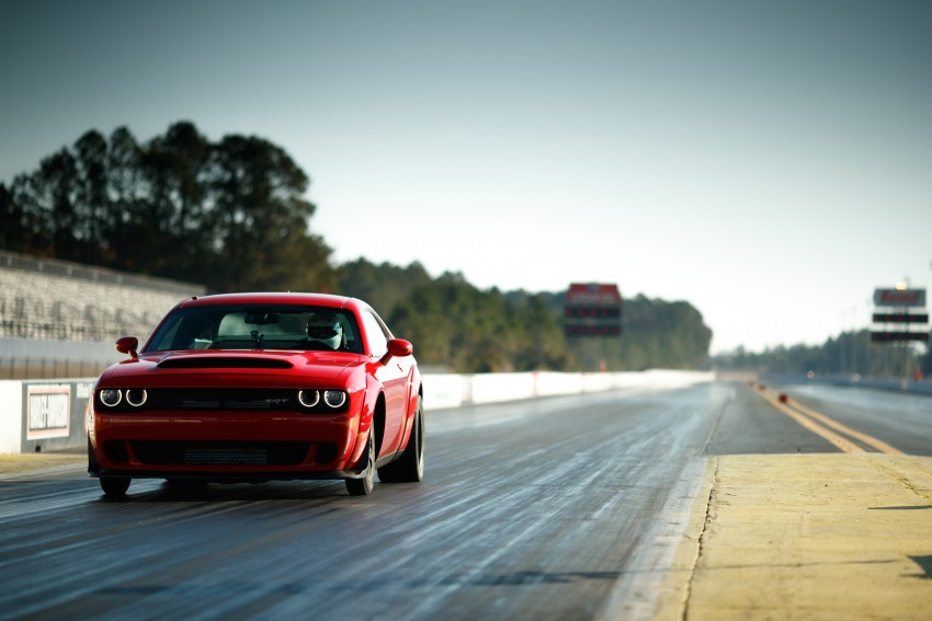 Dodge Challenger SRT Demon – world's quickest production car with 840 hp, 0-100 km/h in 2.3 secs Image #644029