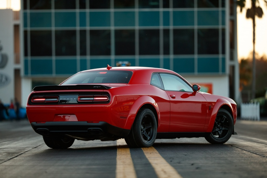 Dodge Challenger SRT Demon – world's quickest production car with 840 hp, 0-100 km/h in 2.3 secs Image #644031