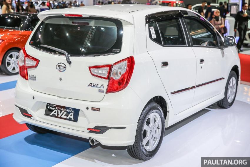 IIMS 2017: Daihatsu Ayla and Toyota Agya LCGC twins Image #651591