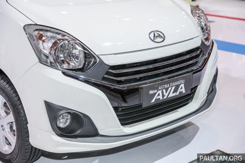IIMS 2017: Daihatsu Ayla and Toyota Agya LCGC twins Image #651592