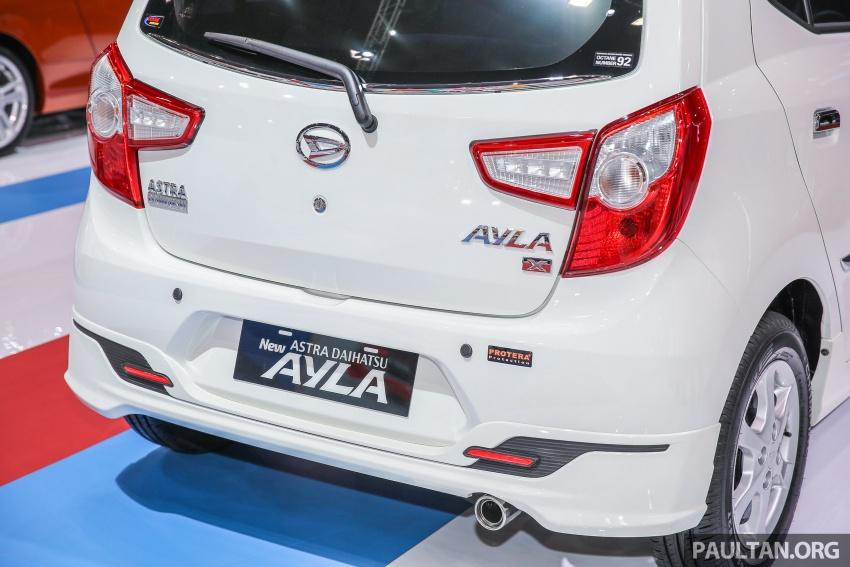 IIMS 2017: Daihatsu Ayla and Toyota Agya LCGC twins Image #651593