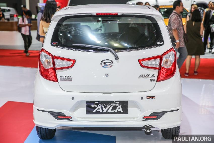 IIMS 2017: Daihatsu Ayla and Toyota Agya LCGC twins Image #651596