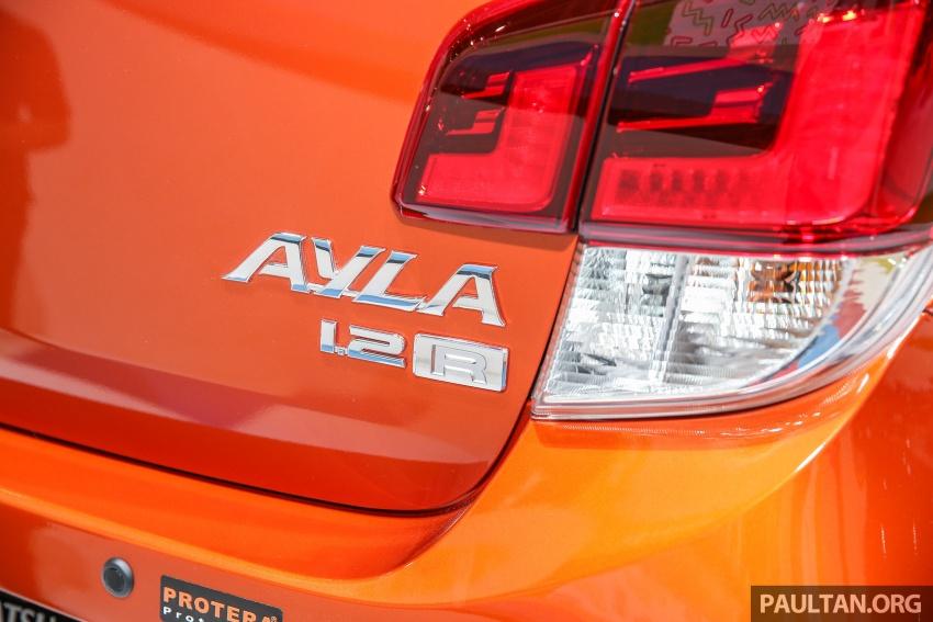 IIMS 2017: Daihatsu Ayla and Toyota Agya LCGC twins Image #651551