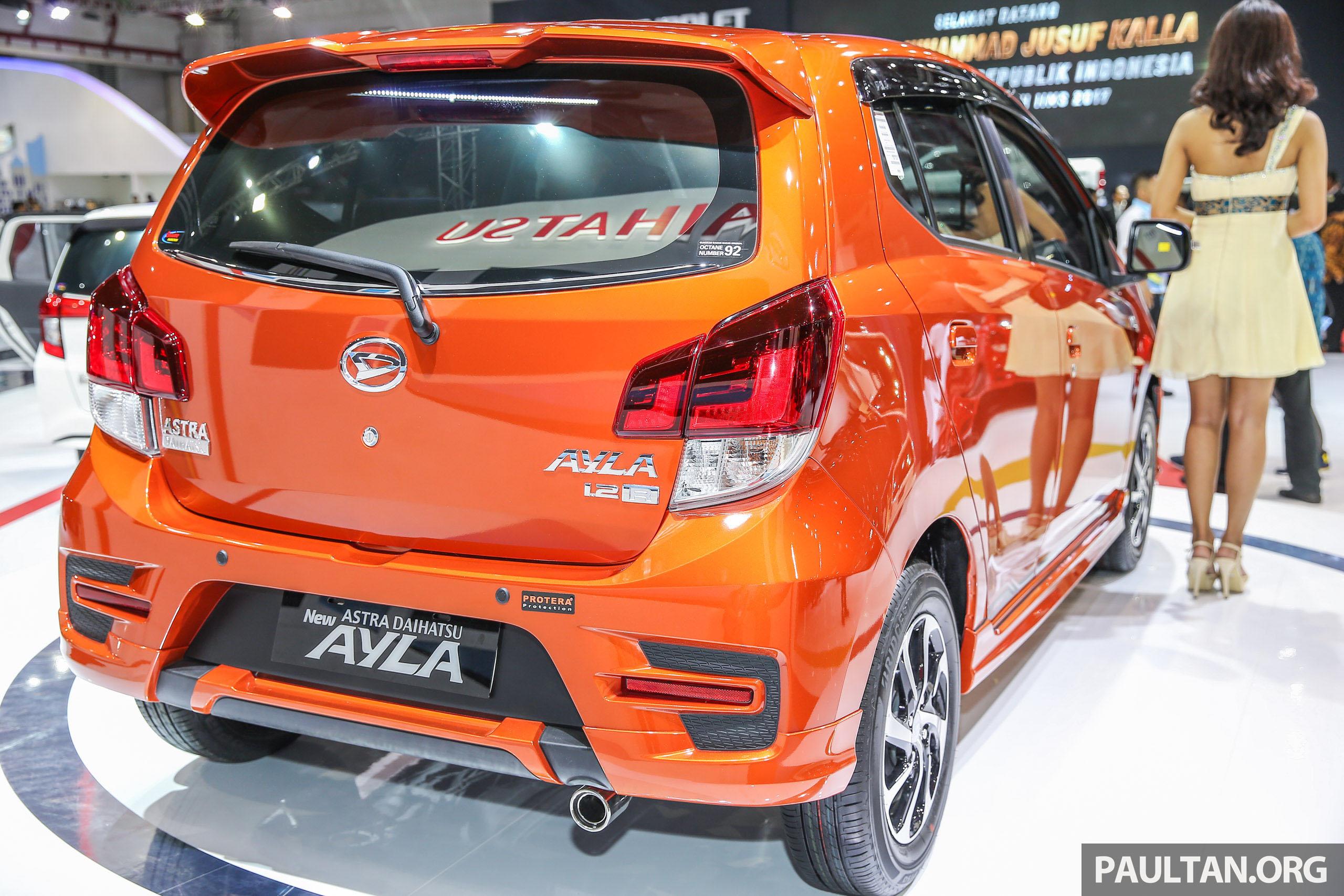 Iims 2017 Kembar Daihatsu Ayla Dan Toyota Agya Image 651851