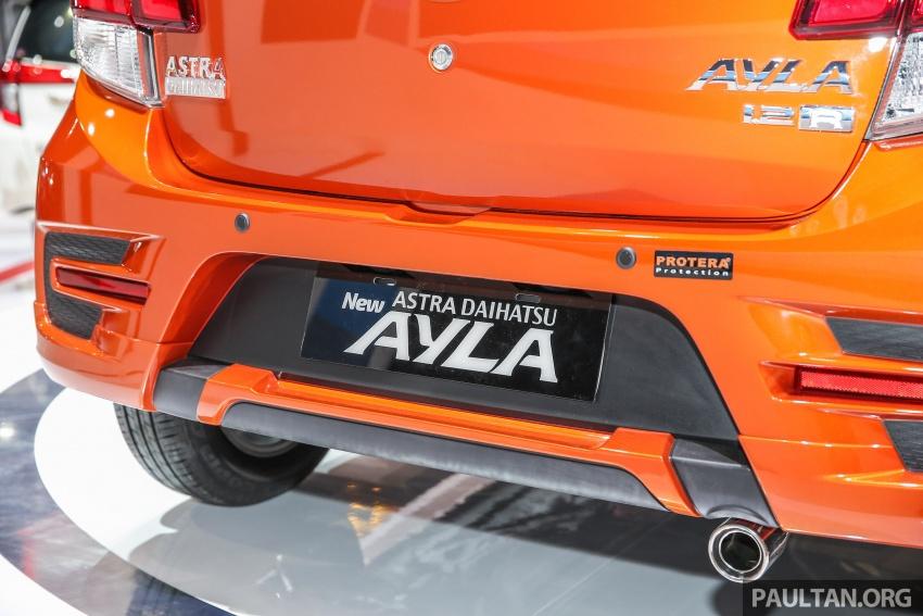 IIMS 2017: Daihatsu Ayla and Toyota Agya LCGC twins Image #651555