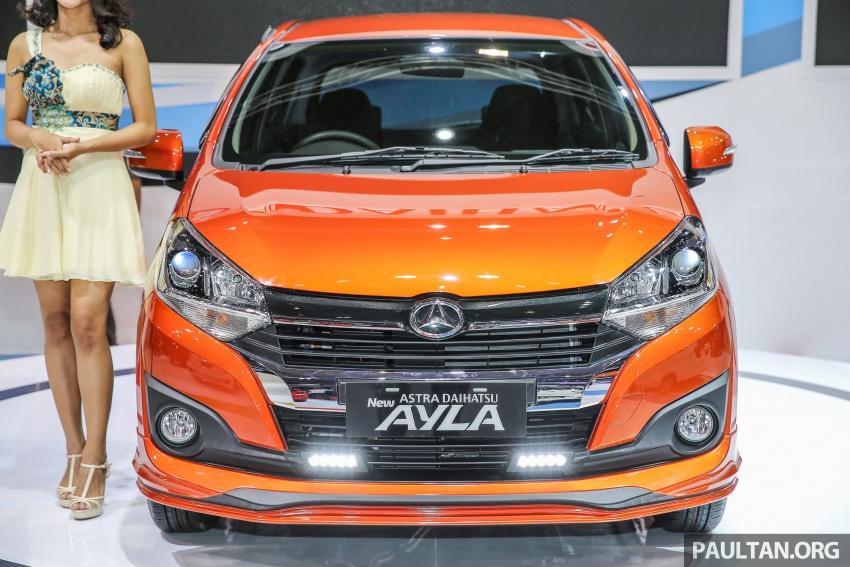 IIMS 2017: Daihatsu Ayla and Toyota Agya LCGC twins Image #651529