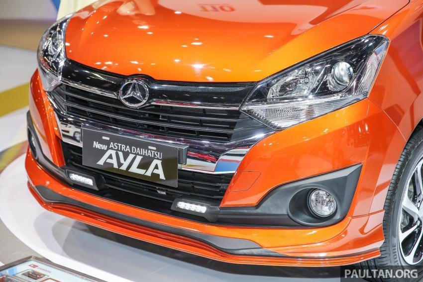 IIMS 2017: Daihatsu Ayla and Toyota Agya LCGC twins Image #651532