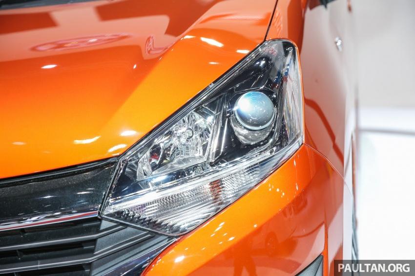 IIMS 2017: Daihatsu Ayla and Toyota Agya LCGC twins Image #651533