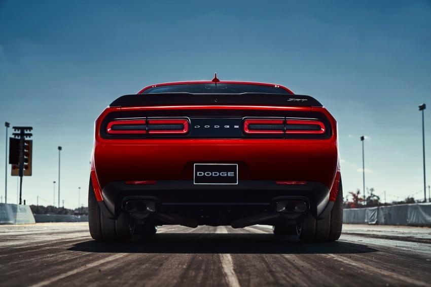 Dodge Challenger SRT Demon – kereta produksi paling pantas, padat dengan 840 hp dan 1,075 Nm Image #644209