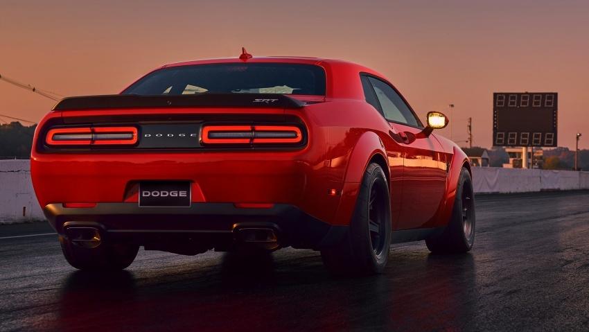 Dodge Challenger SRT Demon – kereta produksi paling pantas, padat dengan 840 hp dan 1,075 Nm Image #644210