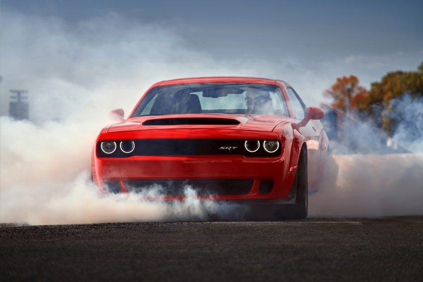 Dodge Challenger SRT Demon – kereta produksi paling pantas, padat dengan 840 hp dan 1,075 Nm Image #644211
