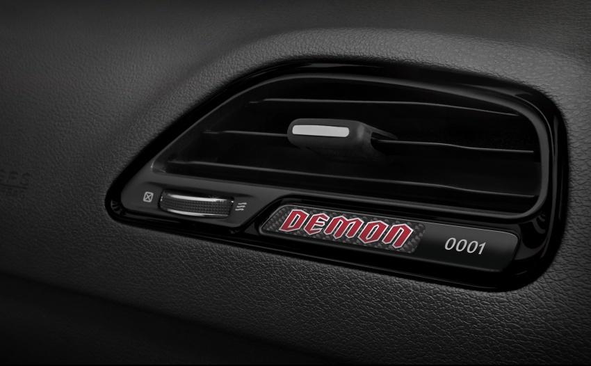 Dodge Challenger SRT Demon – kereta produksi paling pantas, padat dengan 840 hp dan 1,075 Nm Image #644230