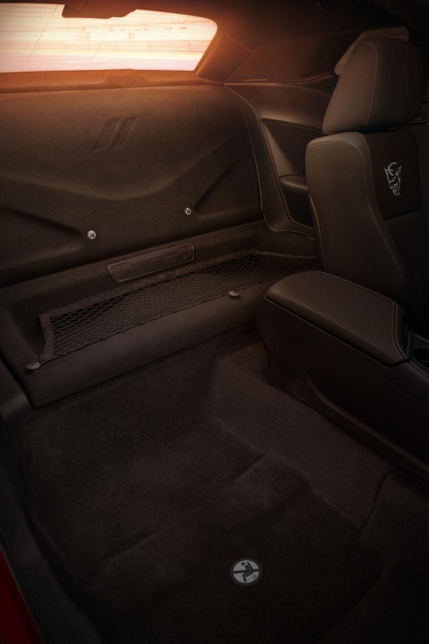 Dodge Challenger SRT Demon – kereta produksi paling pantas, padat dengan 840 hp dan 1,075 Nm Image #644231