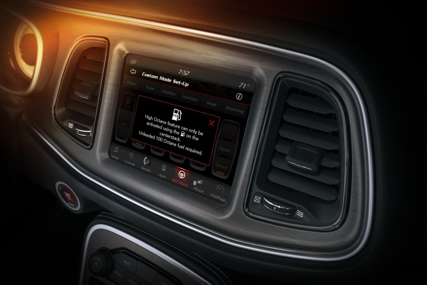 Dodge Challenger SRT Demon – kereta produksi paling pantas, padat dengan 840 hp dan 1,075 Nm Image #644245