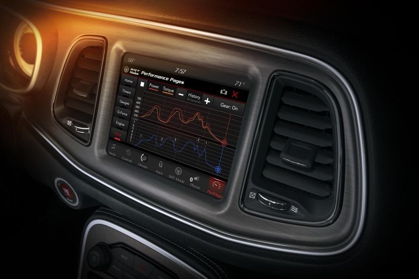 Dodge Challenger SRT Demon – kereta produksi paling pantas, padat dengan 840 hp dan 1,075 Nm Image #644246