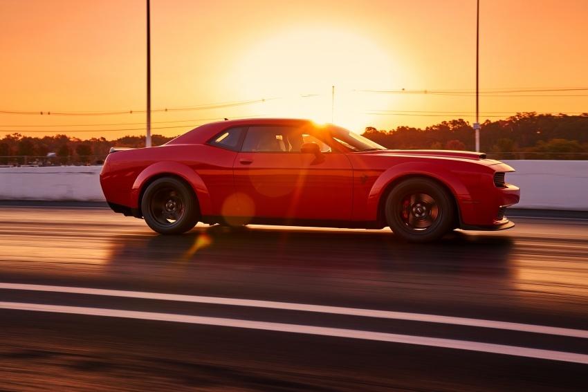 Dodge Challenger SRT Demon – kereta produksi paling pantas, padat dengan 840 hp dan 1,075 Nm Image #644205