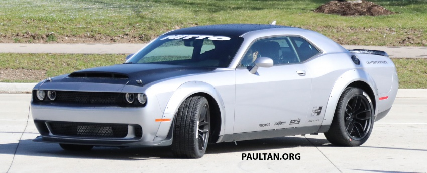 SPIED: Dodge Challenger Demon testing, launch soon Image #642680